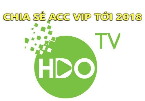 Chia sẻ tài khoản HDONLINE Vip xem phim HD cập nhật tháng 02/2018