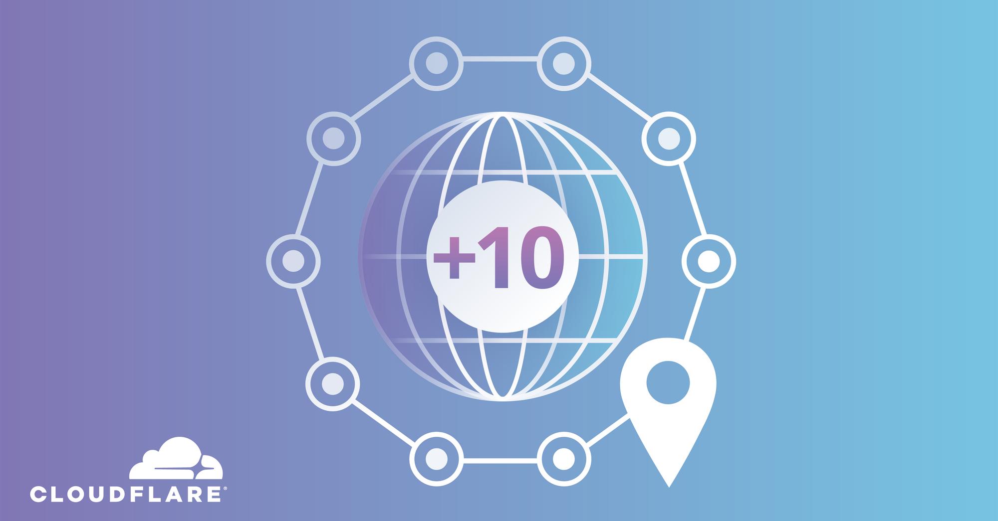 CloudFlare đã và đang về Việt Nam - Mười trung tâm dữ liệu mới từ Cloudflare